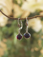 Earrings Leverback with Drop